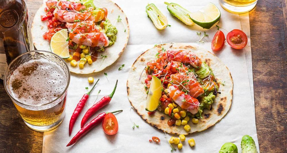 Det eneste som er bedre enn taco er kongekrabbetaco