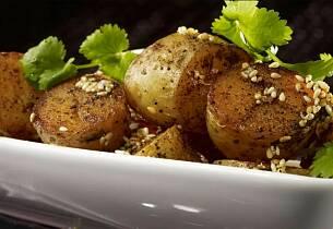 Garam masala poteter