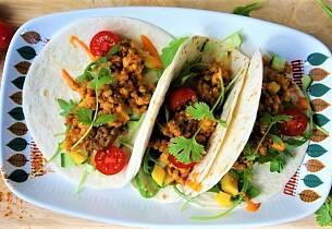 Taco med byggryn
