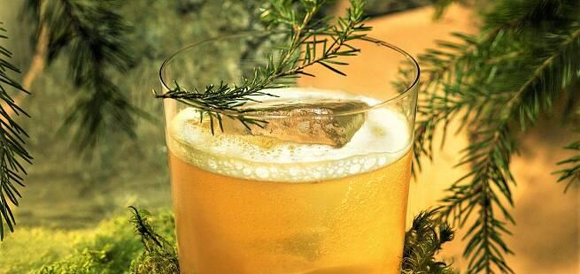 Skog tonic drinkoppskrift
