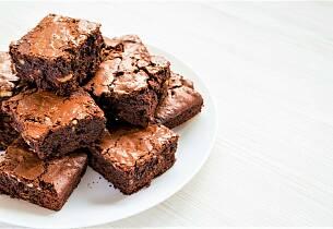 Brownies m/valnøtter