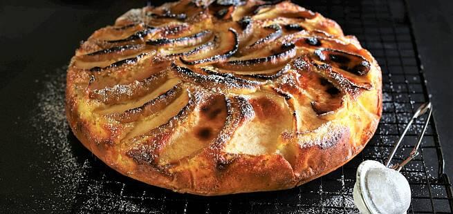 Romersk epleterte Crostata di mele