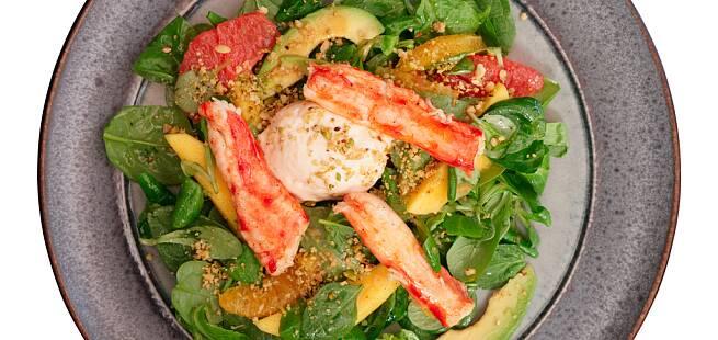 Krabbesalat med sitrus