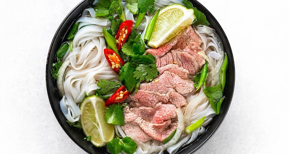 Pho - vietnamesisk nuddelsuppe
