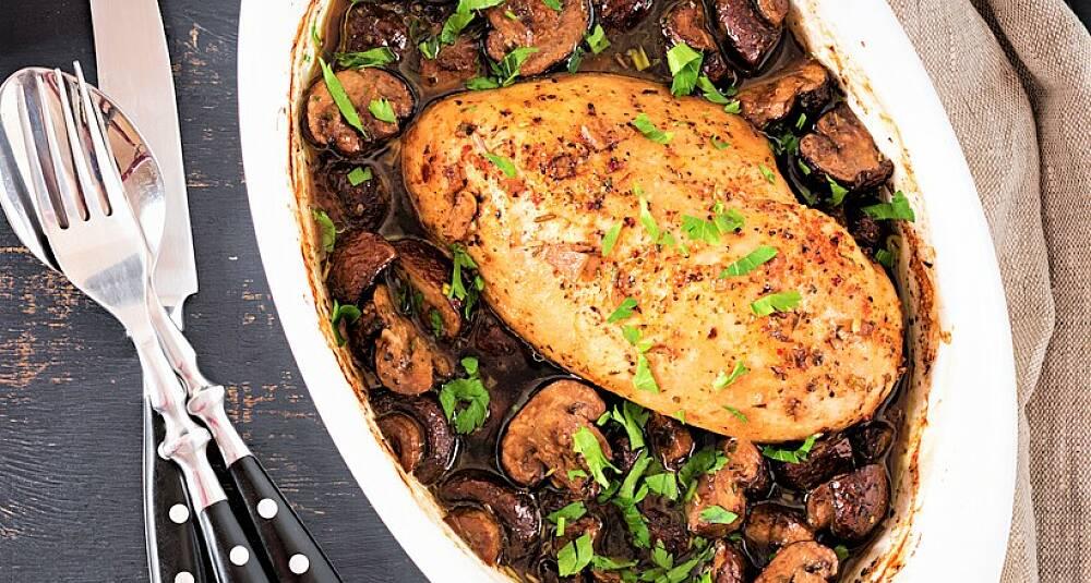 Lag denne smakskraftige innpakningen for kyllingfileten