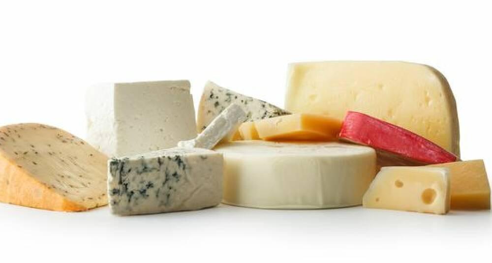 Melk, smør og ost