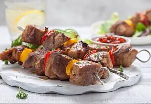 Shish kebab tyrkisk