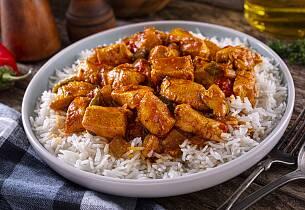 Tyrkisk kyllingrett med ris