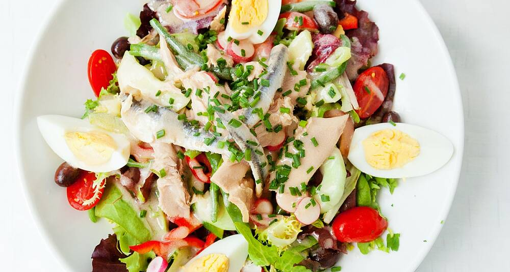 Salat Nicoise - salat fra Nice