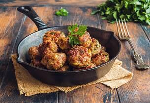 Kjøttboller med ingefær og hvitløk
