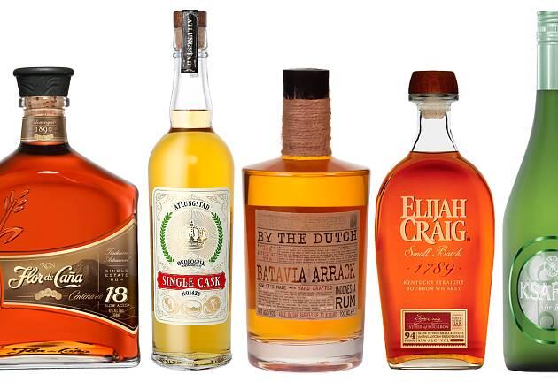 Spennende rom, marc, bourbon, arak og akevitt topper listen denne gangen
